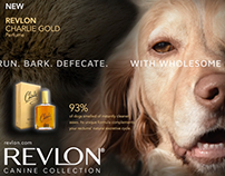 Making of: Revlon Dog Advertisement