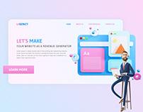 UIGENCY | 3D Header UI