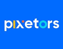 Pixetors Brand Identity Design