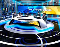 Proyecto escenográfico TVN Noticias