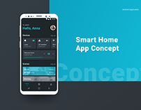Smart Home App - Android