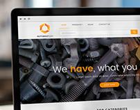 Nutobolt - Online Marketplace (UI Web Design)