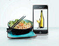 Mobile App | FairPrice Wine Pairing