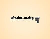 Absolut analog logo