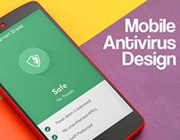 Antivirus Mobile App UI