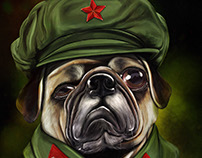 毛泽东哈巴狗 (Mao Tse Pug)