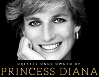 Dresses Once Owned By Princess Diana | Ian Whittock