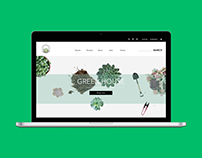 Green House e-commerce website