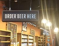 Founders Detroit Custom Interior Signs