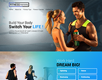 Fitness-Free PSD Template