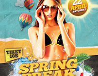 Spring Break / Summer Flyer poster