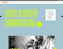 Foresight Messaging Wesbsite
