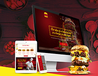 Burner Burger Website