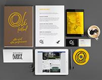 Olé Fútbol // Branding