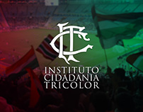 Branding e Website - Instituto Cidadania Tricolor