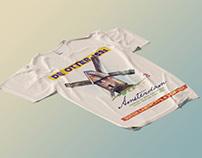Free Perspective T-Shirt Mockup