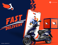 Branding for Wing Speed Delivery Service