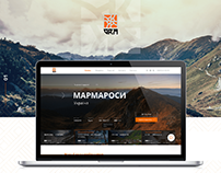 Web-site for the GRA travel agency