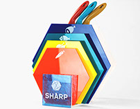 Sharp Cutting Board