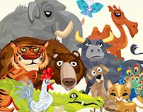 ILLUSTRATIONS | Game Design - The Animal Game
