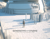 GENERATIVE ART STUDIO EXHIBITION