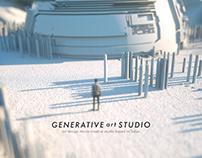 GENERATIVE ART STUDIO EXHIBITION
