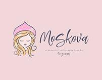 Moskova Script Font Free