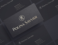 Polina Savvidi  Logo for fashion designer