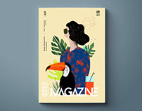 Magazine - Editorial illustration