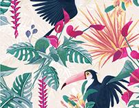Hidden Wonder | Sumdex 2017AW embroidery design