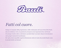 Bauli website