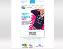 The Children's Place E-Mail Design Campaigns
