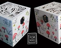 Mushroom Gift Box