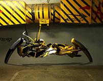 3d Graffiti Technica - 'Scraper