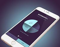 Economy+ App UI