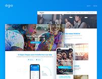 Digio - Site & Landing Page