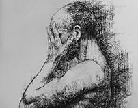 Male body posture 01