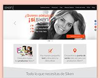 UI Siken website (diet bars)