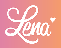 Lena Tampon Branding