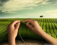 Knitting Greenery