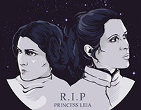 R.I.P Princess Leia
