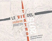 LE VIE DEL TEATRO | poster & brochure