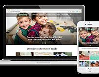 Responsive Website - Amafresp - Association