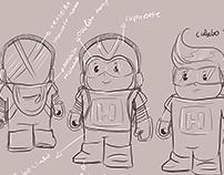 Mascote Hizinho (Tecnológico)