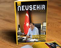 """""""İş'te Nevşehir"""" Magazine Design"""