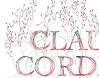 """Portada libro de poesía """"Claustro Cordillera"""""""