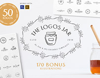 The Logos Jar - 50 Templates