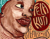 """Fela Kuti Greates Hits"" (CD Illustration)"