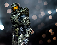 Award Winning Toy Photography - Halo