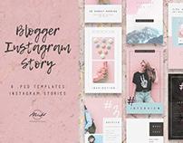 Pastel Instagram Story Bundle Template/ Blog/ Blogger
